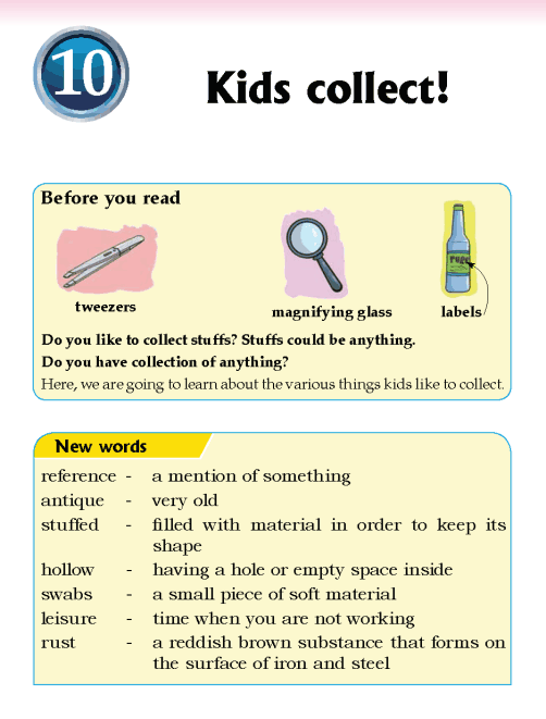 Literature Grade 5 Non-fiction Kids collect