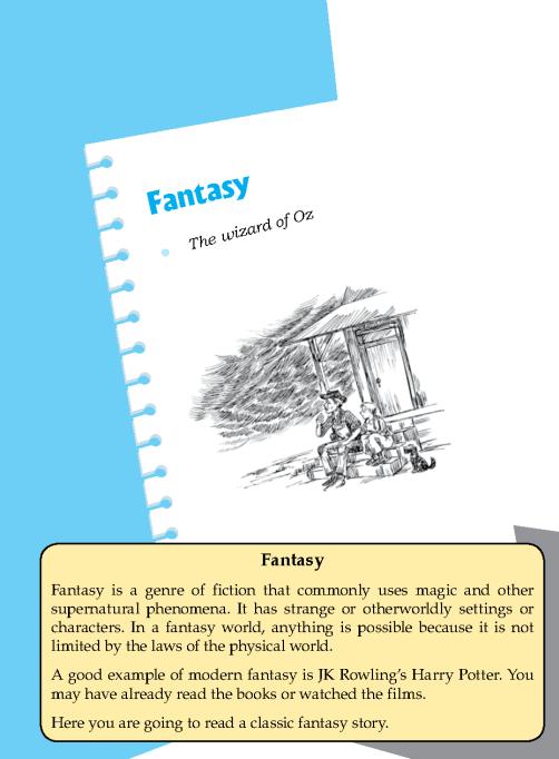 Literature Grade 6 Fantasy