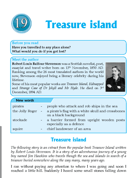 Literature Grade 6 Feature Treasure Island