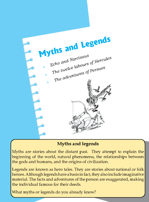 Literature Grade 6 Myths and Legends