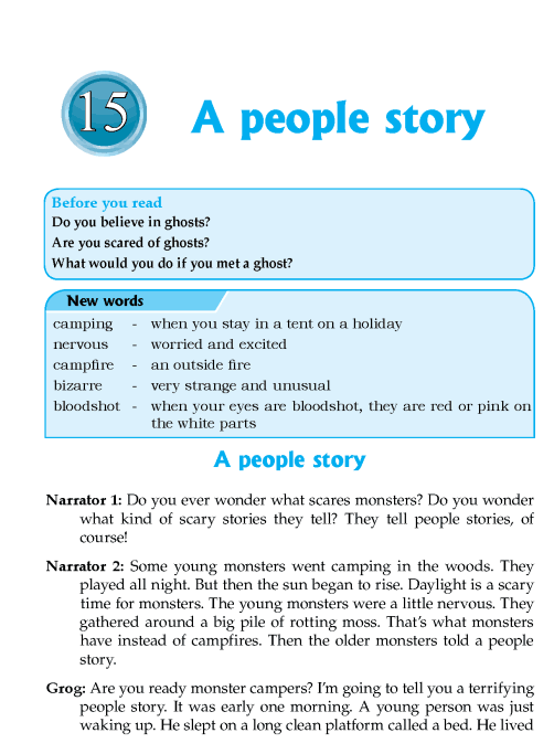 Literature Grade 6 Plays A people story