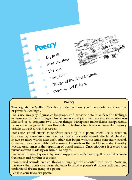 Literature Grade 6 Poetry