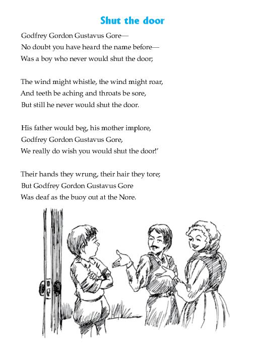 literature-grade 6-Poetry-Shut the door (2)