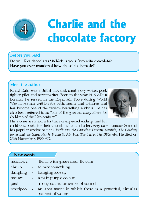 Worksheets English  Short Stories Grade 6 literature grade 6 short stories charlie and the chocolate factory 1