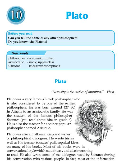 Literature Grade 7 Biographies Plato