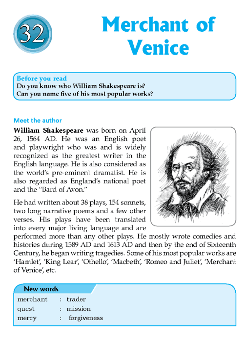 Literature Grade 7 Feature Merchant Of Venice