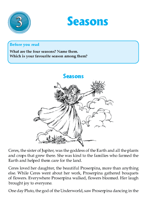 Literature Grade 7 Myths And Legends Seasons