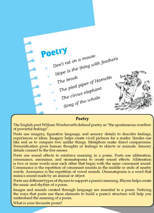 Literature Grade 7 Poetry
