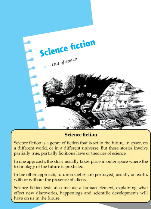 Literature Grade 7 Science Fiction Out Of Space