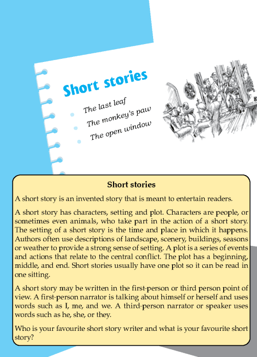 Literature Grade 7 Short Stories | English Literature