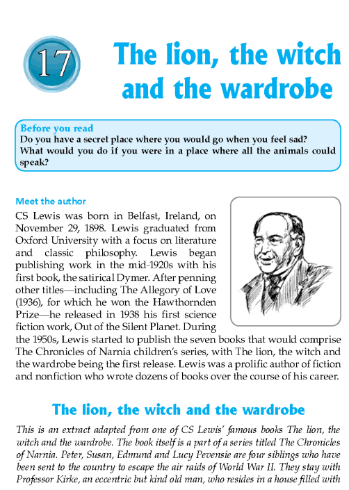 literature-grade 8-Fantasy-The lion, the witch and the wardrobe (1)