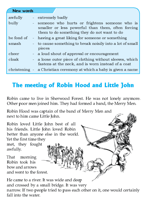 literature-grade 8-Myths and legends-The meeting of Robin Hood and Little John (2)