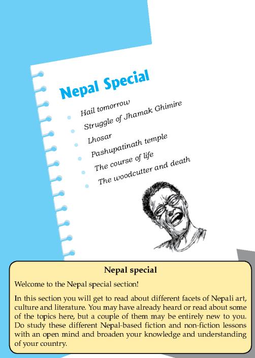 Literature Grade 8 Nepal Special