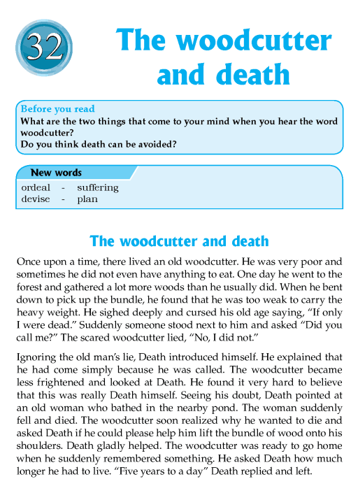literature-grade 8-Nepal Special-The woodcutter and death (1)