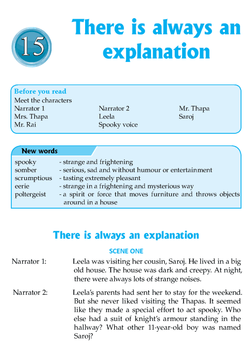 Literature Grade 8 Plays There Is Always An Explanation