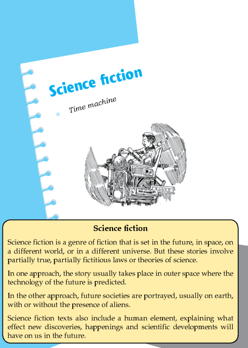 Literature Grade 8 Science Fiction Time Machine