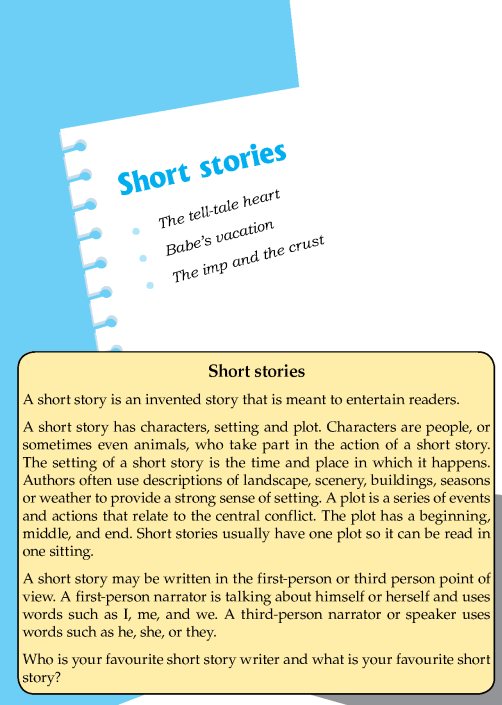 Literature Grade 8 Short Stories